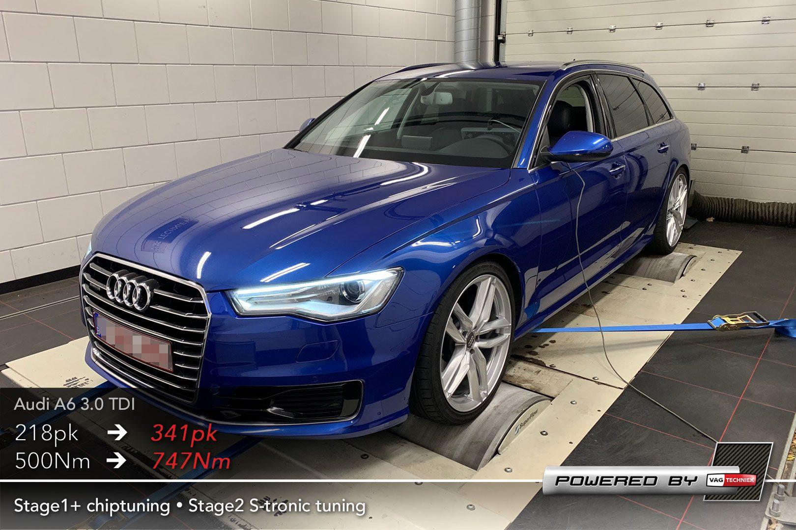 Audi A6 4g Facelift 3 0 Tdi V6 Cr 218pk Chiptuning 30 Korting Vagtechniek